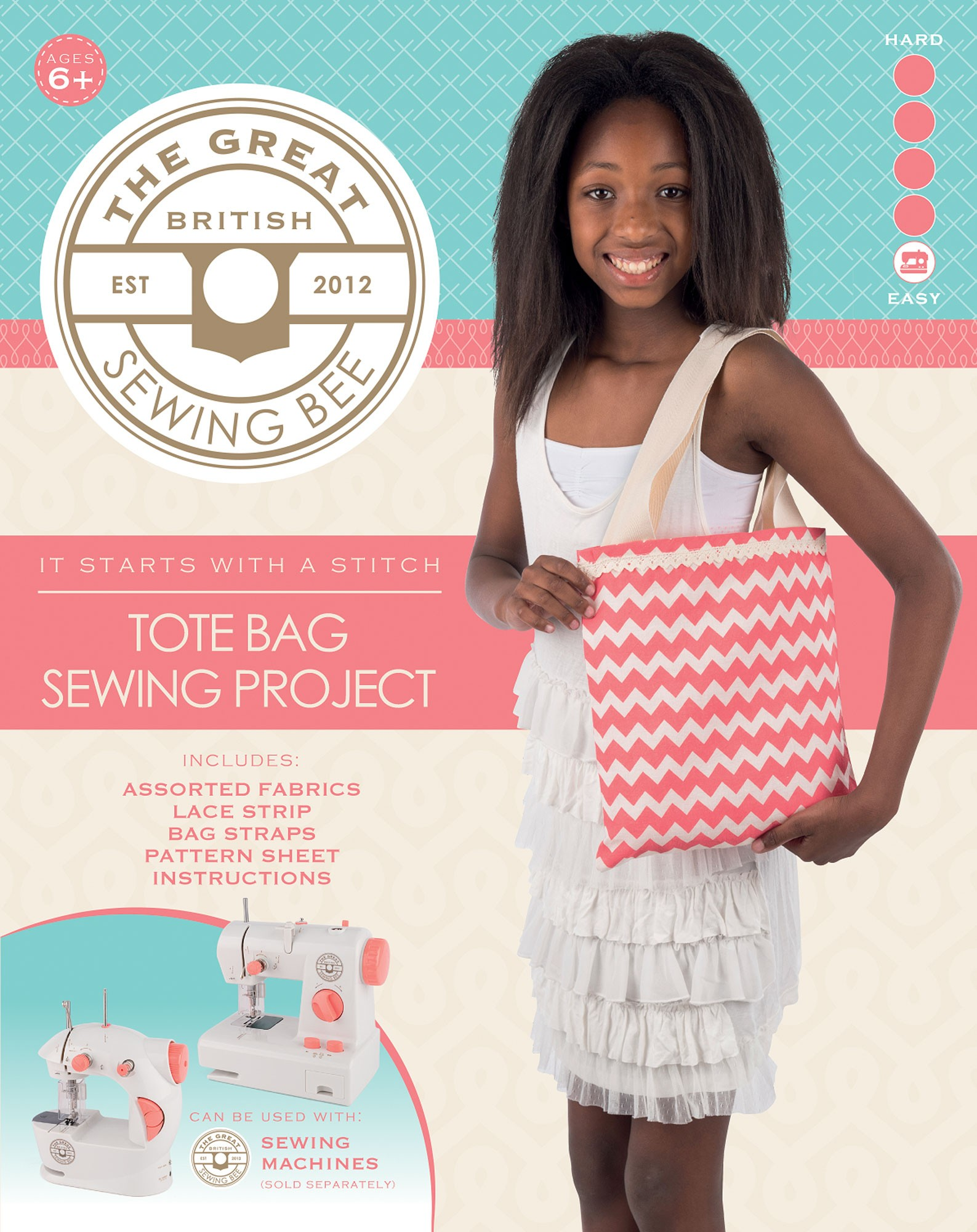 Great British Sewing Bee Tote Bag Kit