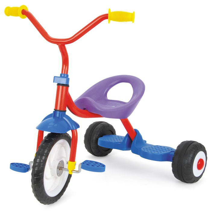 TY4118 - Toyrific Kids Tricycle Ride-On in Colourful Design with Comfortable Safe Seat