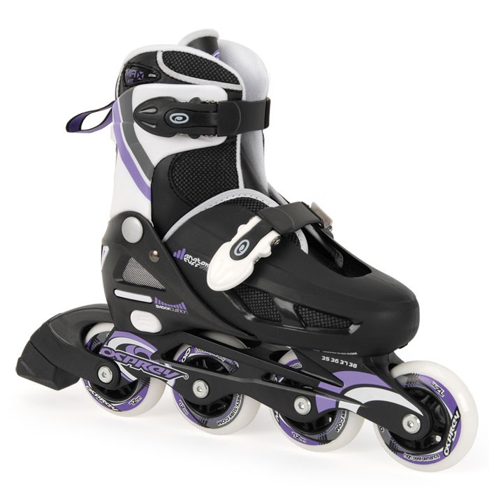 TY4798-99 - Toyrific Osprey Inline Skates For Girls with Adjustable Straps in Purple