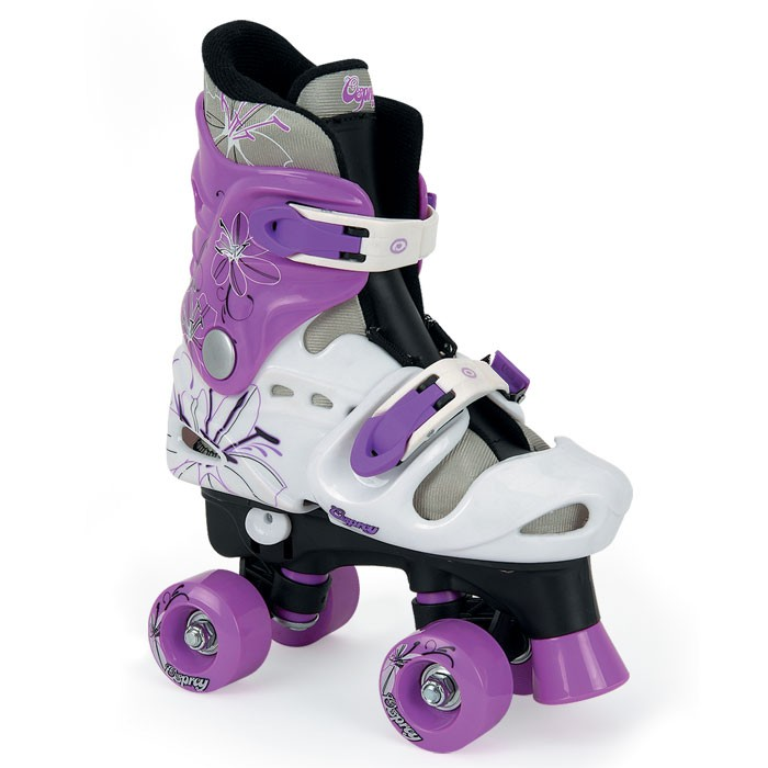 TY4803-04-05 - Toyrific Osprey Quad Roller Skates For Girls with Adjustable Straps in Purple