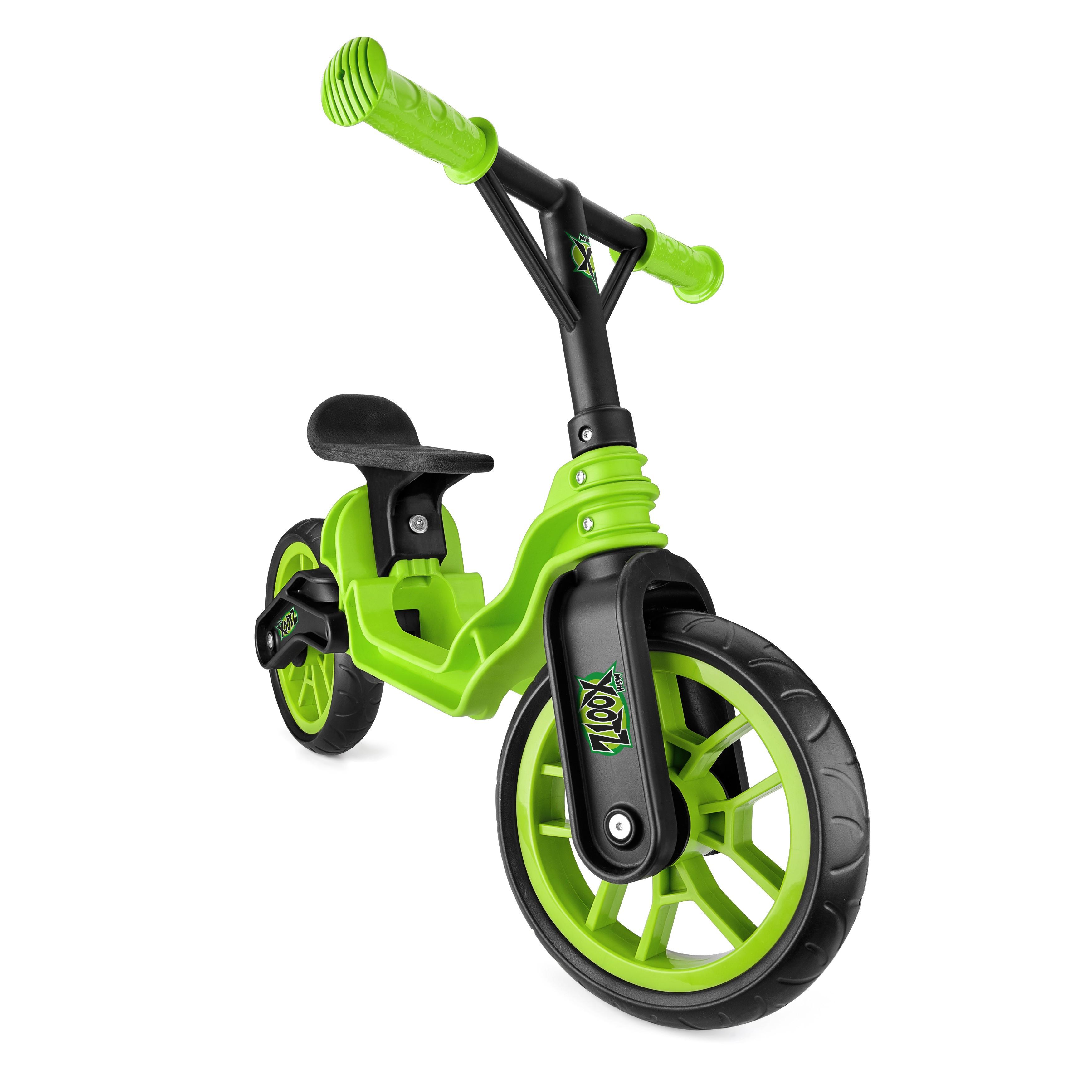 Xootz Green Folding Balance Bike