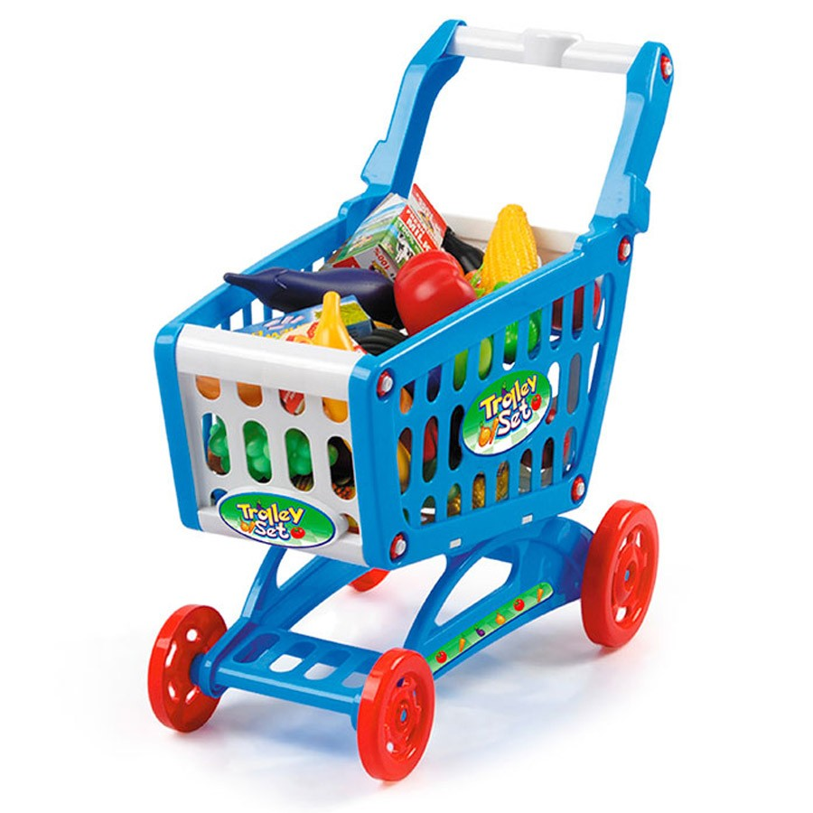 Shopping Trolley Play Set