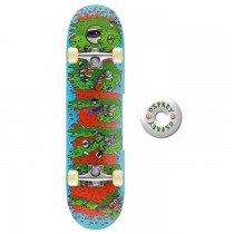 TY4219A - Toyrific Osprey Skateboard for Kids in Blue, Red & Green 7 Ply Construction