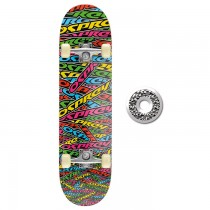 TY4219C - Toyrific Osprey Skateboard for Kids in Rainbow Colours 7 Ply Construction