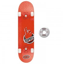 TY4434A - Toyrific Osprey Skateboard for Kids in Red 7 Ply Construction