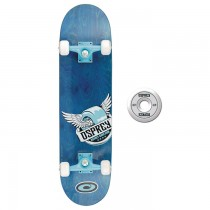 TY4434C - Toyrific Osprey Skateboard for Kids in Blue with Wings 7 Ply Construction
