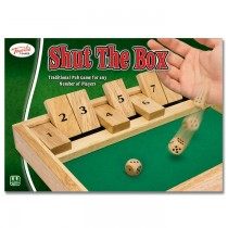 Shut the Box Traditional Game