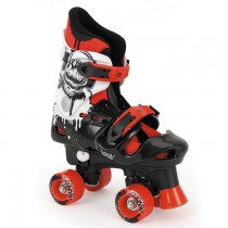 TY4800-01-02 - Toyrific Osprey Quad Roller Skates For Boys with Adjustable Straps in Red
