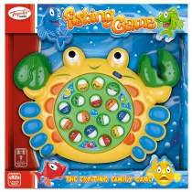 TY4935 - Toyrific Fishing Game in Crab or Shell Design Catch Fish Game