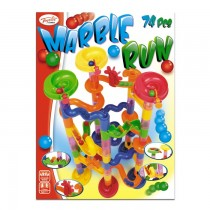 74 Piece Marble Run Building Game