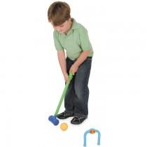 Plastic Croquet Garden Play Set