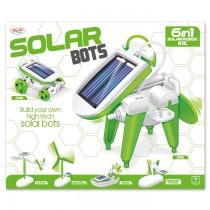 TY5292 - Toyrific Solar Bot 6 in 1 Toy Solar Powered Toy