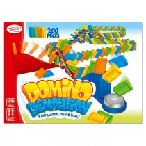 TY5295 - Toyrific Domino Demolition Family Traditional Pub Game