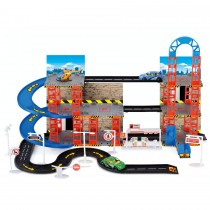 TY5324 - Toyrific City Car Park Three Multi Storey with Vehicles & Helicopter