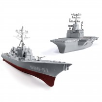 Attack Force Navy Ship Play Set