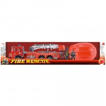 Fire Rescue Friction Fire Engine Set  2
