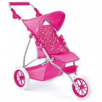Snuggles Deluxe 3 Wheeled Dolls Buggy